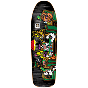 Almost Mullen Dog Poker R7 Skateboard Deck 9.625