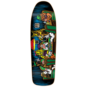 Almost Mullen Dog Poker Slick Skateboard Deck 9.625