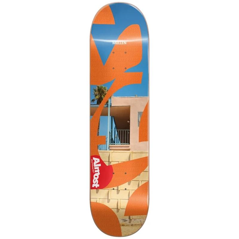 Almost Mullen Fleabag R7 Skateboard Deck 8.25