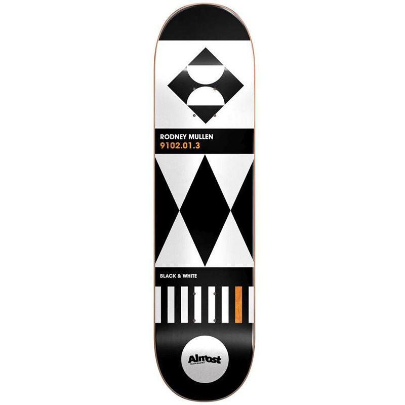 Almost Mullen Geometrix R7 Skateboard Deck 8.0