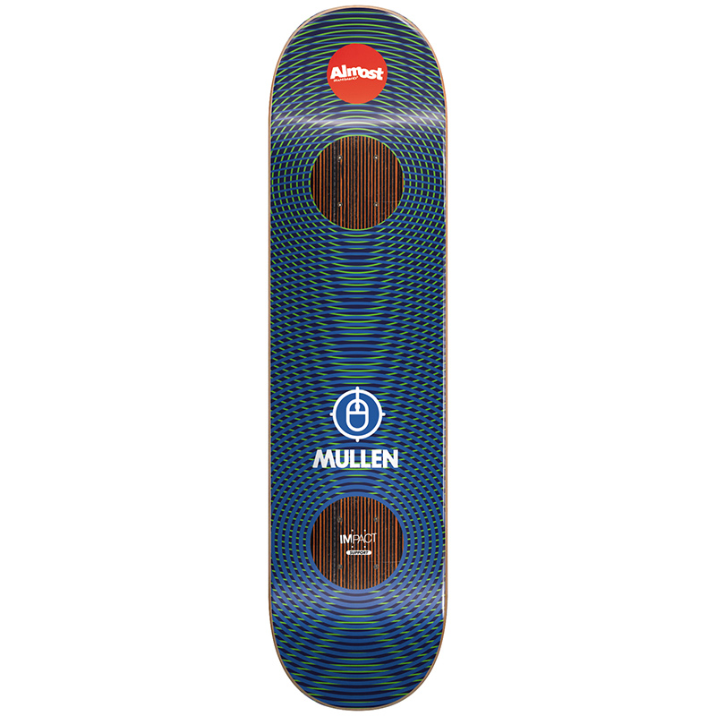 Almost Mullen Impact Vibes Skateboard Deck7.75