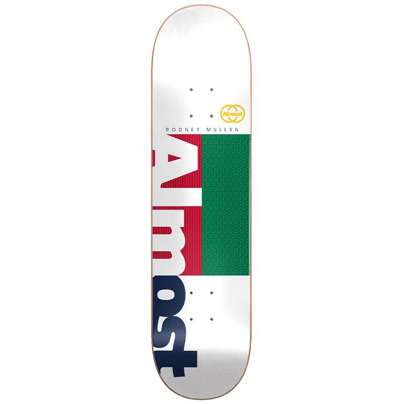 Almost Mullen Ivy League Impact Light Skateboard Deck 8.0