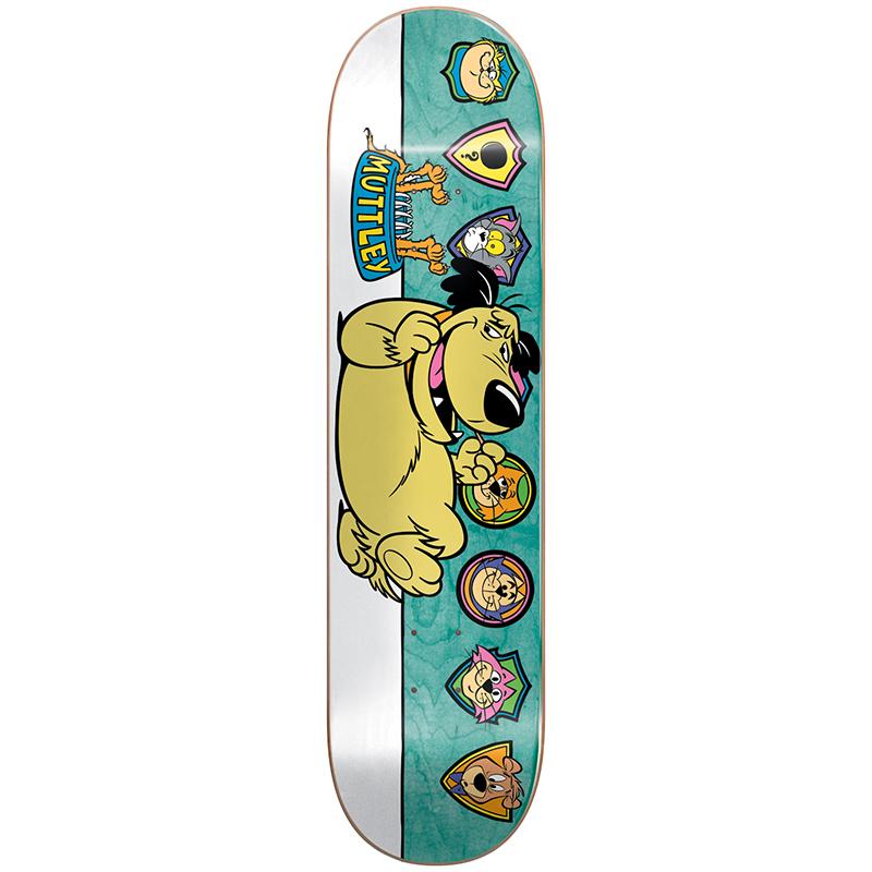 Almost Mullen Muttley Plaques R7 Mullen Skateboard Deck 8.125