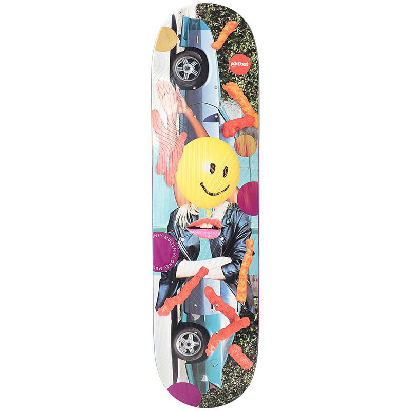 Almost Mullen Nonsense R7 Skateboard Deck 8.125