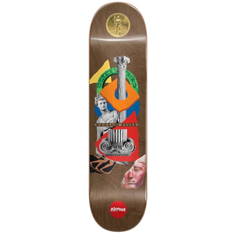 Almost Mullen Relics R7 Skateboard Deck 7.75