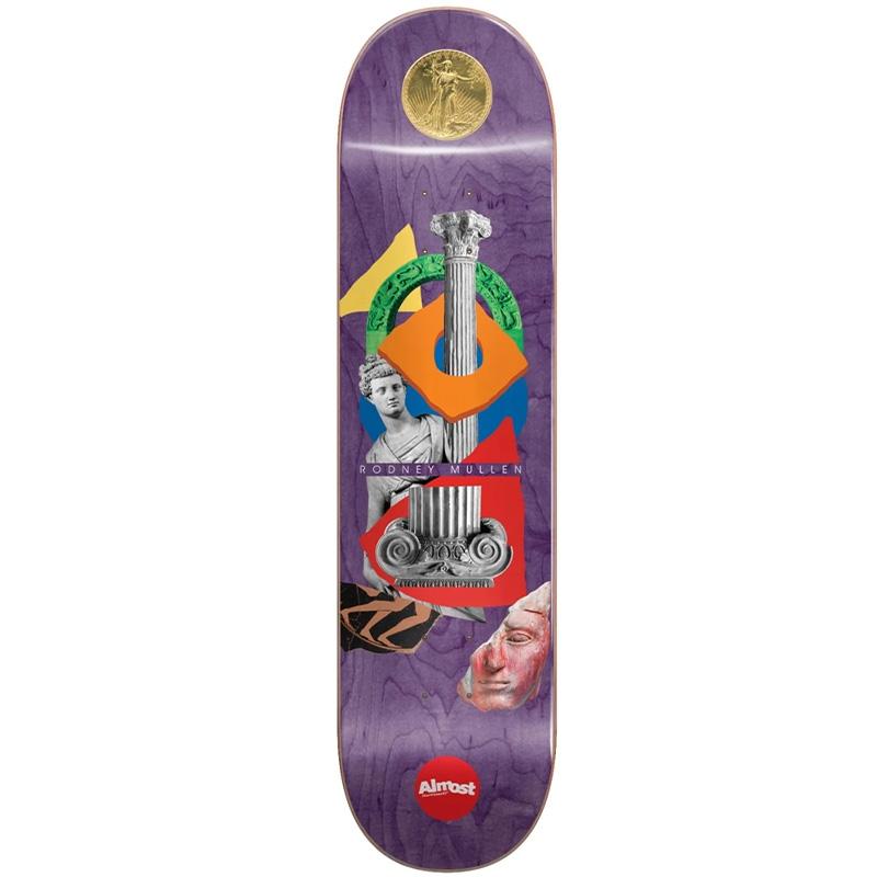 Almost Mullen Relics R7 Skateboard Deck 8.25