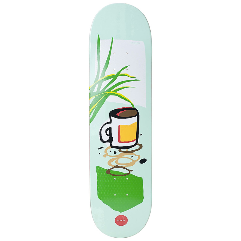 Almost Mullen Still Life R7 Skateboard Deck 8.25