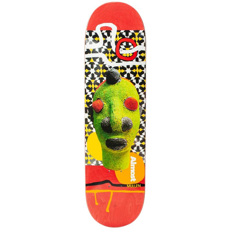 Almost Rodney Mullen African Mask R7 Skateboard Deck 7.75