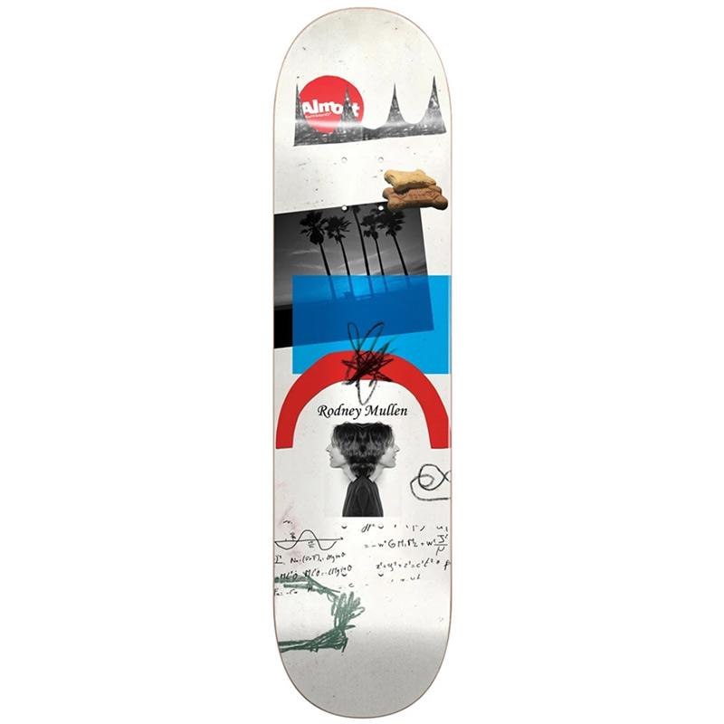 Almost Rodney Mullen Scraps R7 Skateboard Deck 8.25
