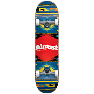 Almost Rustic Complete Skateboard Blue 7.5