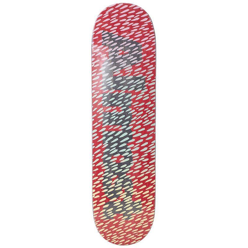 Almost Ultimate Cover Up R7 Skateboard Deck Red 8.25