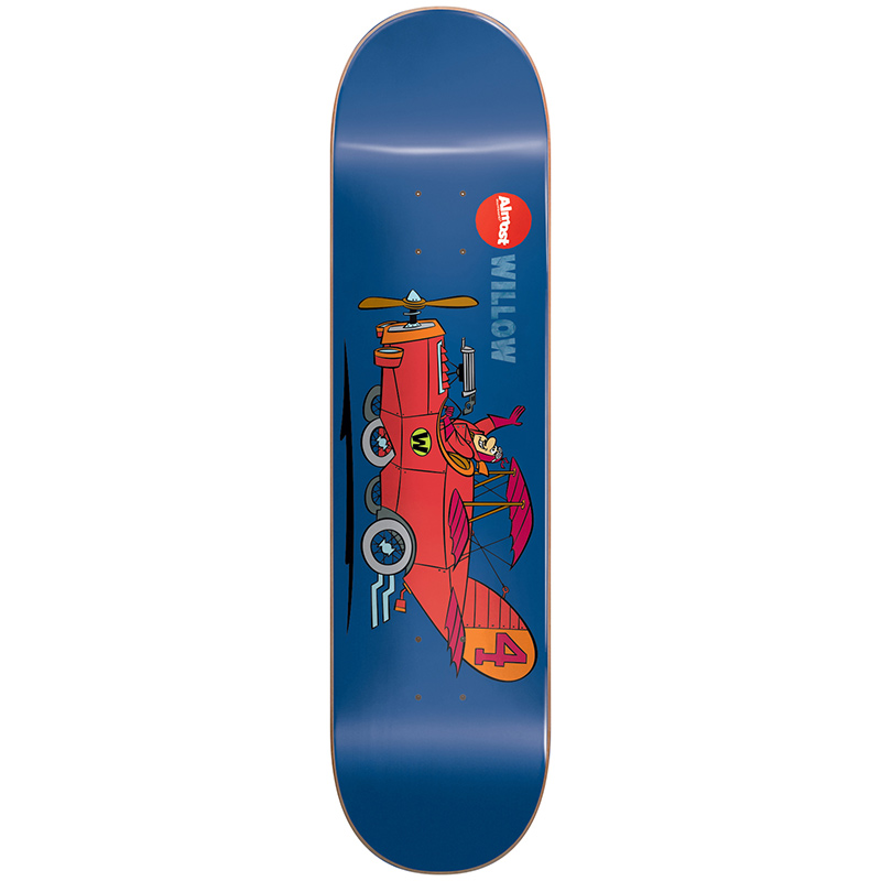 Almost Willow Wacky Races Impact Light Skateboard Deck 8.0