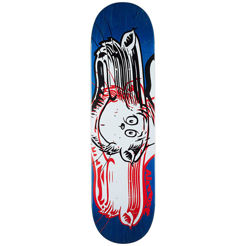 Almost x Dr. Seuss Warped Cat R7 Skateboard Deck 8.25
