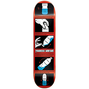 Almost Youness Bottle Flip R7 Skateboard Deck 8.0