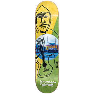 Almost Youness Diagonal R7 Skateboard Deck 8.125