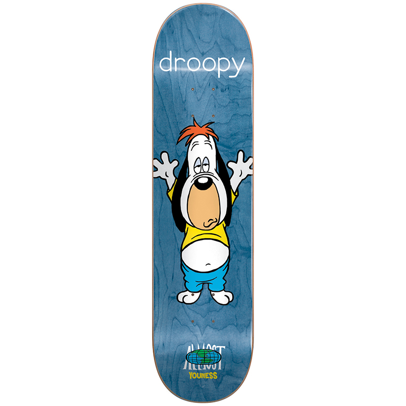 Almost Youness Droopy Stretch R7 Youness Skateboard Deck 8.0