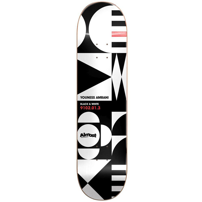 Almost Youness Geometrix R7 Skateboard Deck 8.375