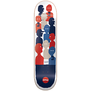 Almost Youness Group Tekst Impact Light Skateboard Deck 8.0