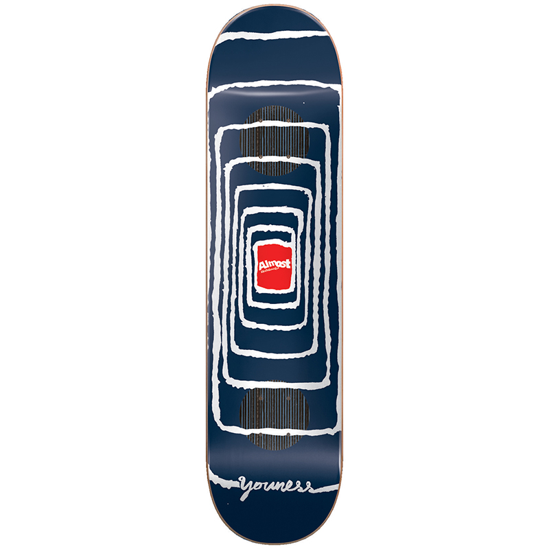Almost Youness Impact Vortex Impact Skateboard Deck 8.0