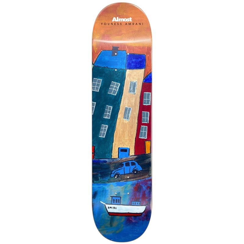Almost Youness Places R7 Skateboard Deck (Left) 8.0
