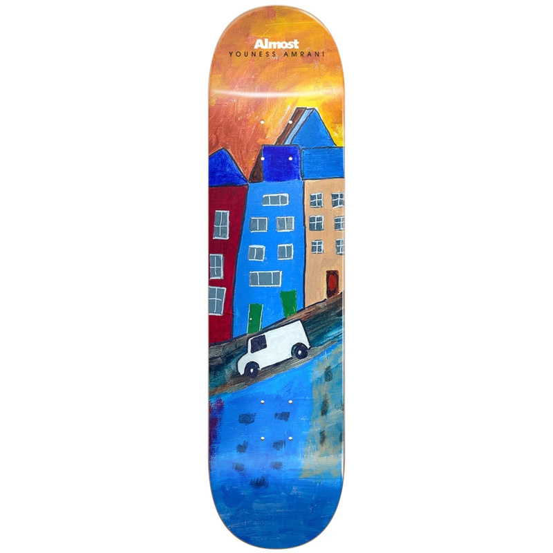 Almost Youness Places R7 Skateboard Deck (Right) 8.25