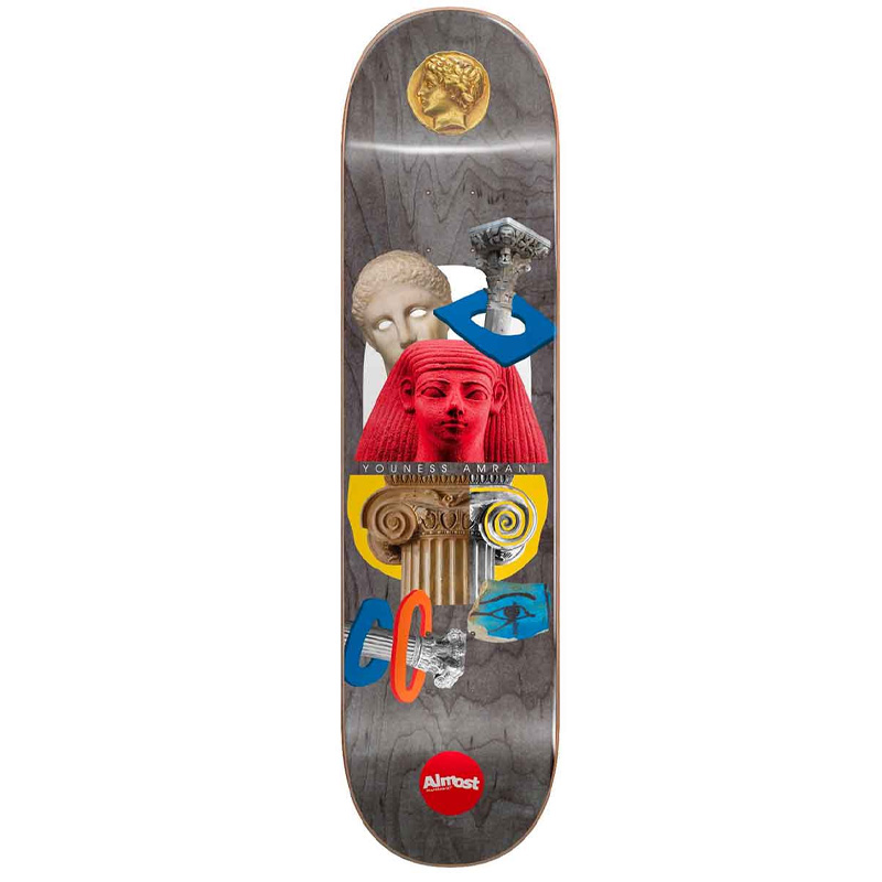 Almost Youness Relics R7 Skateboard Deck 8.5