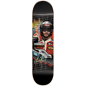 Almost Youness Taladega R7 Skateboard Deck 8.0