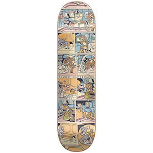 Almost Yuri Comic Strip R7 Skateboard Deck 8.125