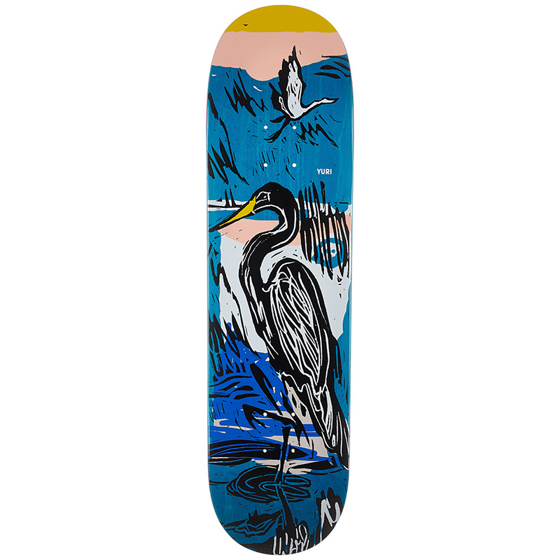 Almost Yuri For The Birds Impact Light Skateboard Deck 8.375