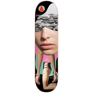 Almost Yuri Girl Collage R7 Skateboard Deck 8.375