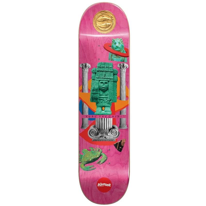 Almost Yuri Relics R7 Skateboard Deck 8.0