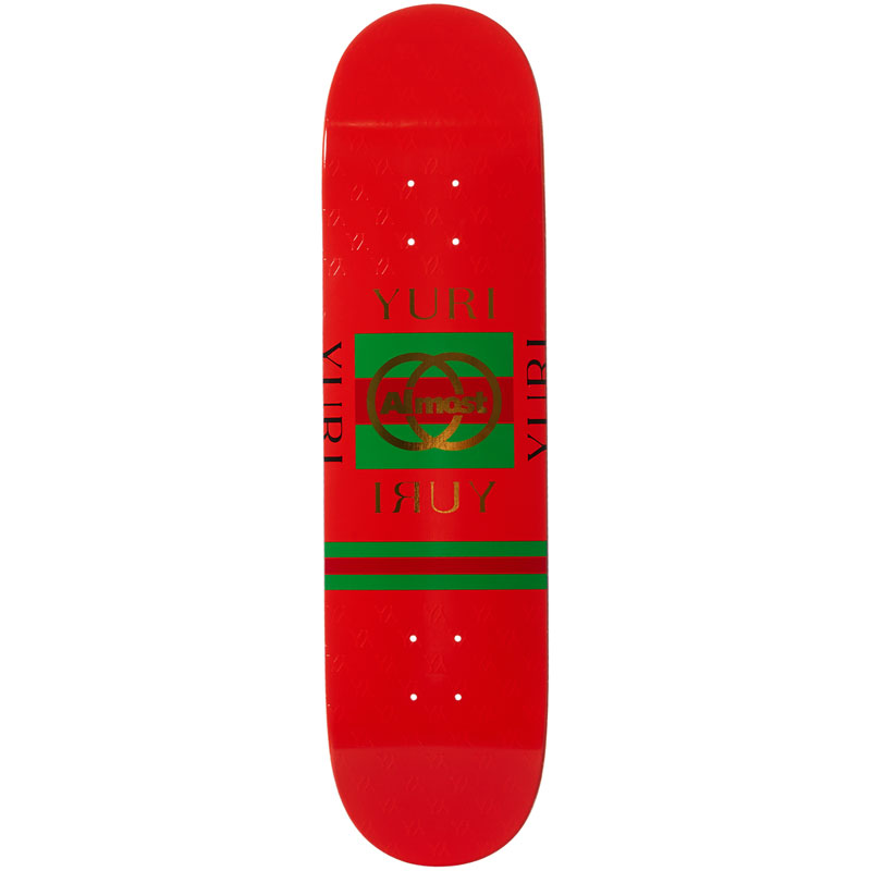 Almost Yuri Runway R7 Skateboard Deck 8.125
