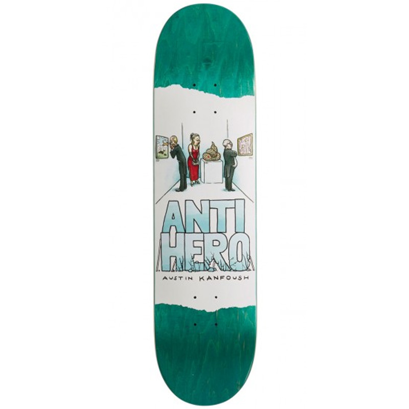 Anti Hero Austin Kanfoush Expressions Skateboard Deck 8.06