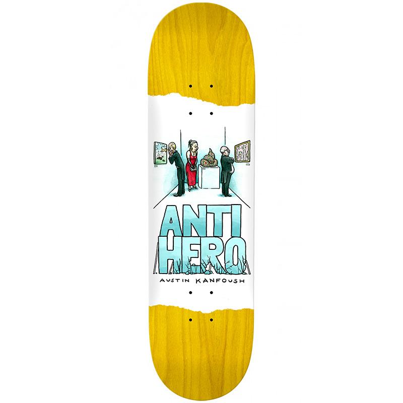 Anti Hero Austin Kanfoush Expressions Skateboard Deck 8.4