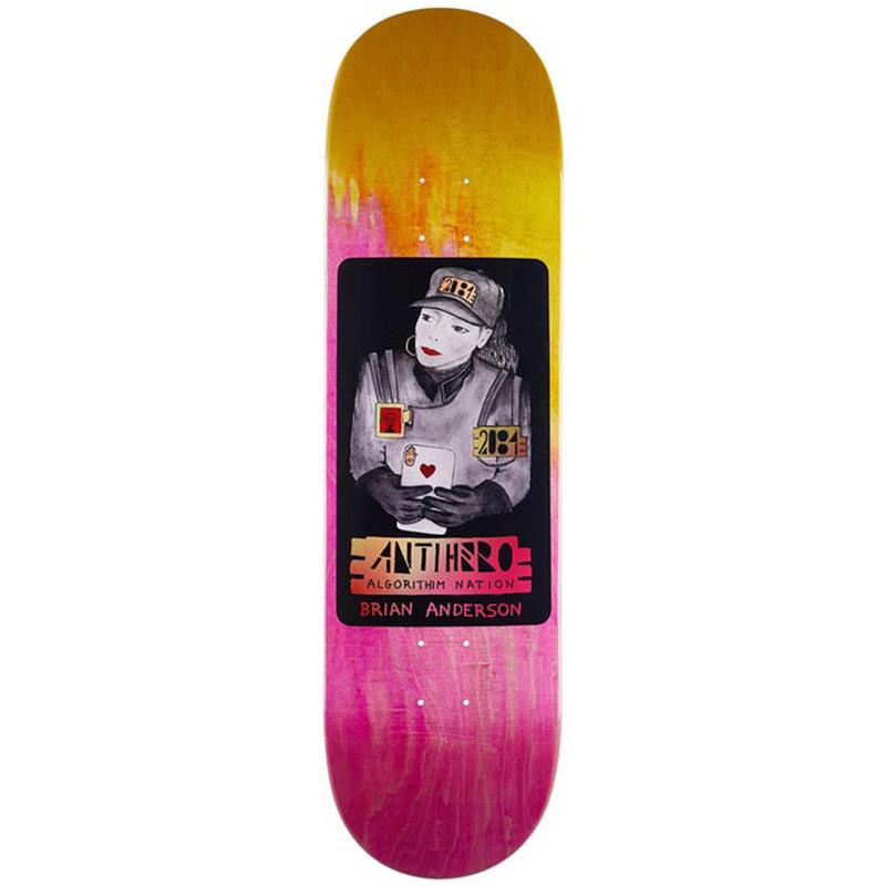 Anti Hero BA 2084 Skateboard Deck 8.75
