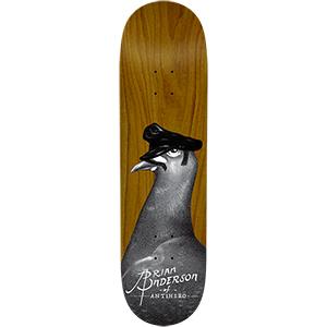 Anti Hero BA Feather Daddy Skateboard Deck 8.5
