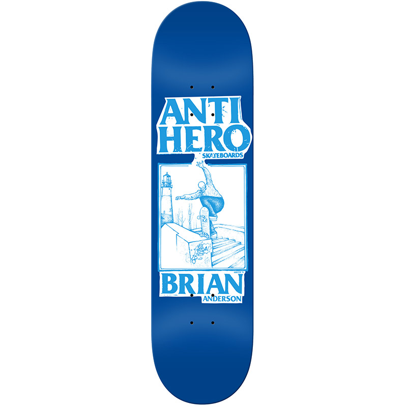 Anti Hero BA Lance Mountain Skateboard Deck 8.38