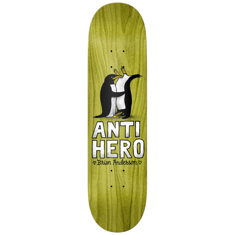 Anti Hero BA Lovers II Skateboard Deck 8.18