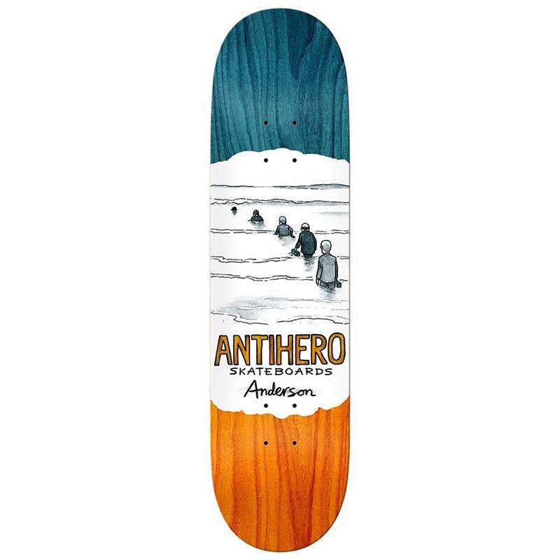 Anti Hero Ba Oblivion Skateboard Deck 8.25