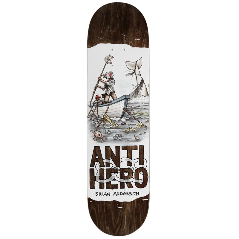 Anti Hero BA Plastics Skateboard Deck 8.4