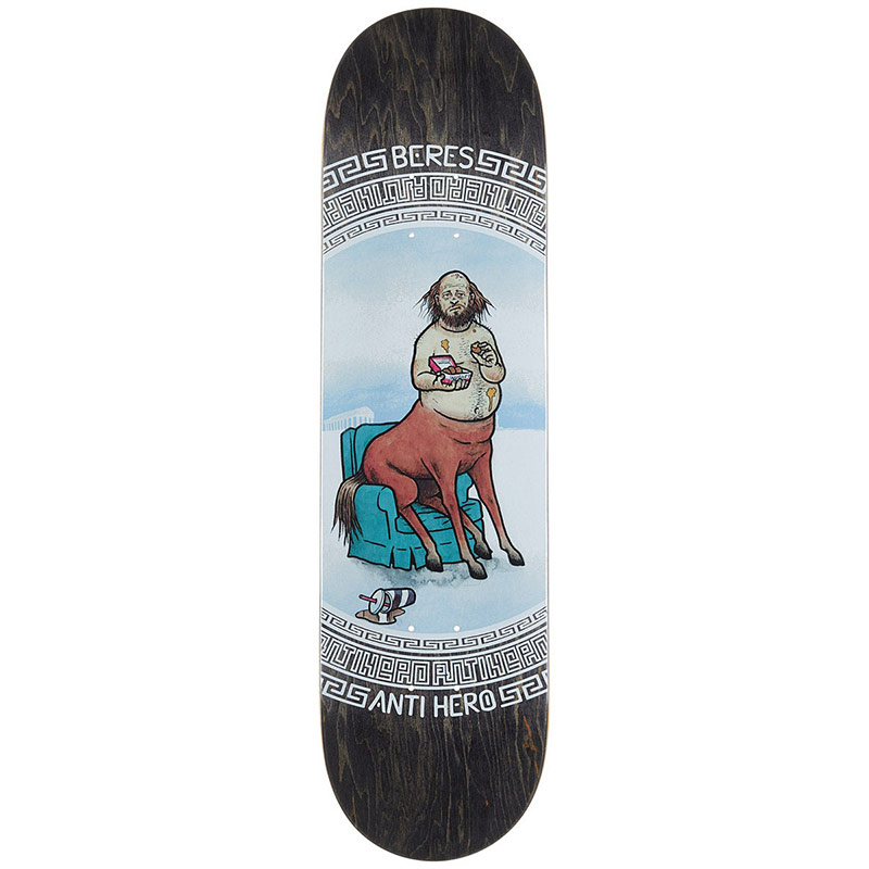Anti Hero Beres Legends Skateboard Deck 8.28