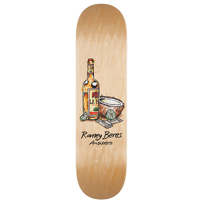 Anti Hero Beres Still Life Full Shape Skateboard Deck 8.25