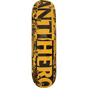 Anti Hero Budget Cuts Skateboard Deck Orange/Black 8.25