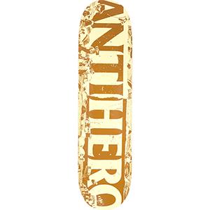 Anti Hero Budget Cuts Skateboard Deck Tan/Brown 8.06
