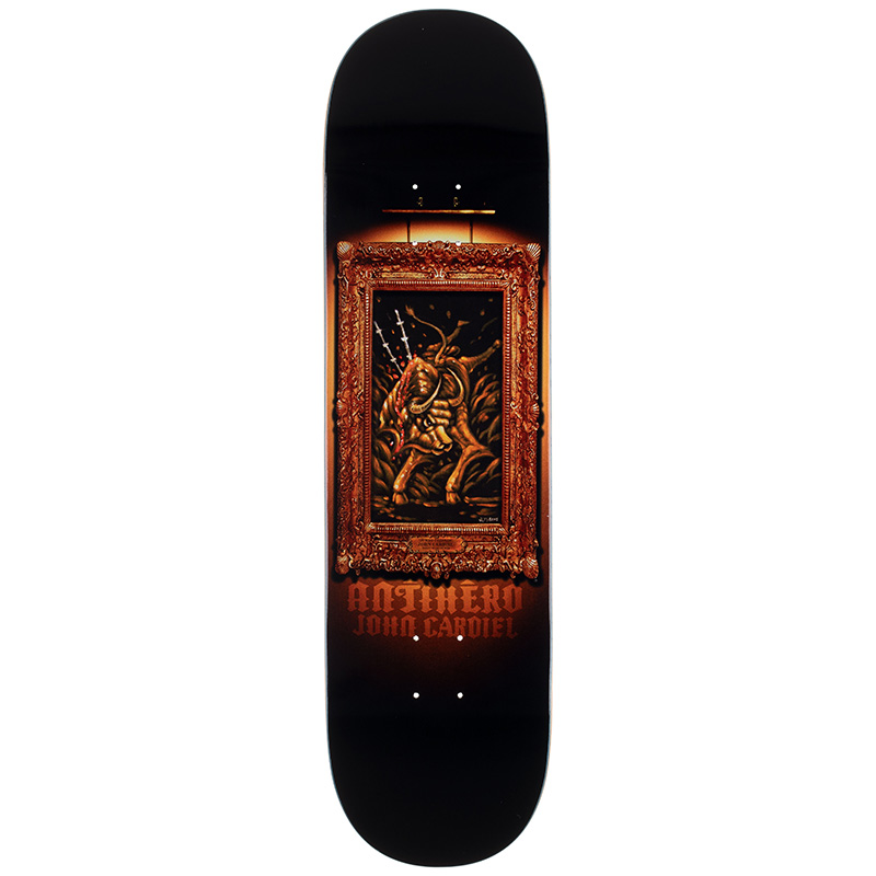 Anti Hero Cardiel Black Velvet Skateboard Deck 8.5