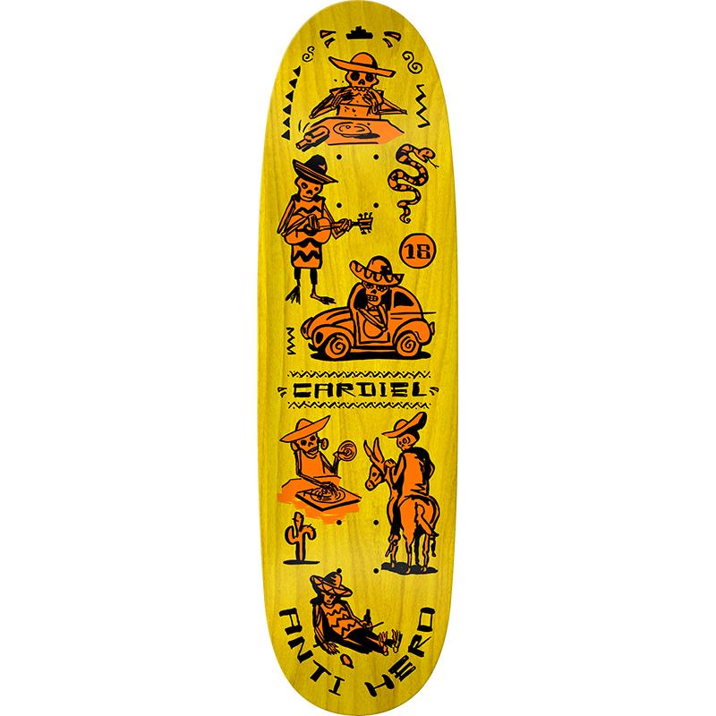 Anti Hero Cardiel Muerte Supremo Skateboard Deck 9.18
