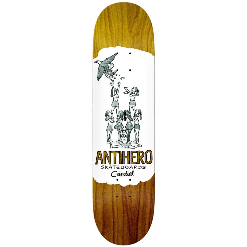 Anti Hero Cardiel Oblivion Skateboard Deck 8.38