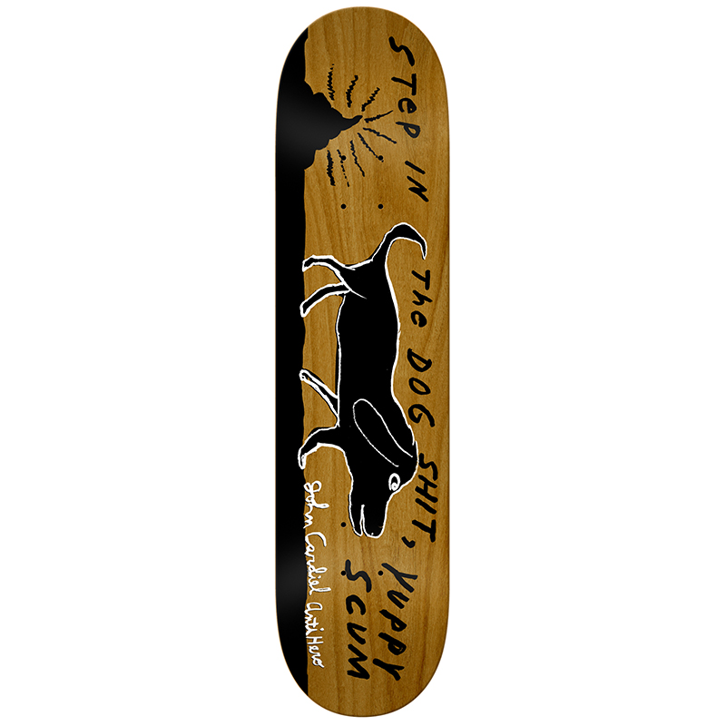 Anti Hero Cardiel Yuppy Dogshit Skateboard Deck 8.28