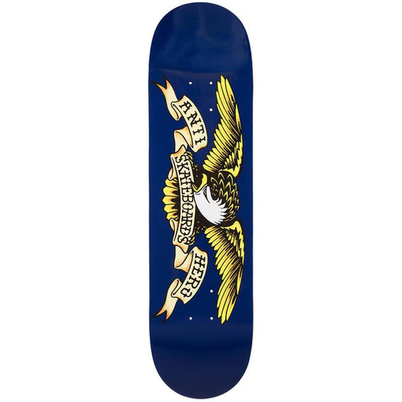 Anti Hero Classic Eagle Skateboard Deck Navy 8.5