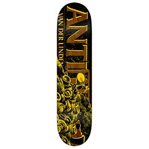 Anti Hero Daan Burning Rubber Skateboard Deck 8.25